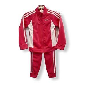 Adidas Tricot Jacket & Track Pants Set